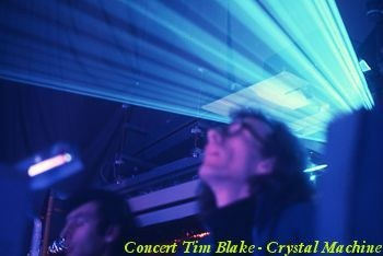Concert Crystal Machine avec Tim Blake, Patrice Warrener et Daniel Hebert