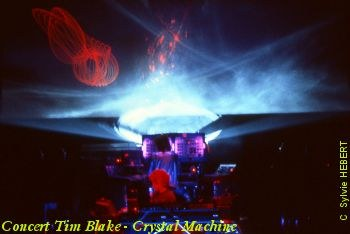 Concert Crystal Machine avec Tim Blake & Jean-Phillipe Rykiel, Patrice Warrener et Daniel Hebert